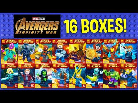LEGO Marvel Avengers Infinity War with Thanos Minifigures (k