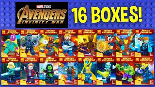 LEGO Marvel Avengers Infinity War with Thanos Minifigures (knock-off) LELE 34044