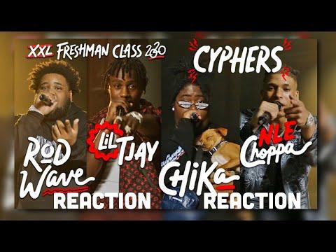 NLE CHOPPA, Rod Wave, Lil Tjay and Chika's XXL FRESHMAN CYPHER