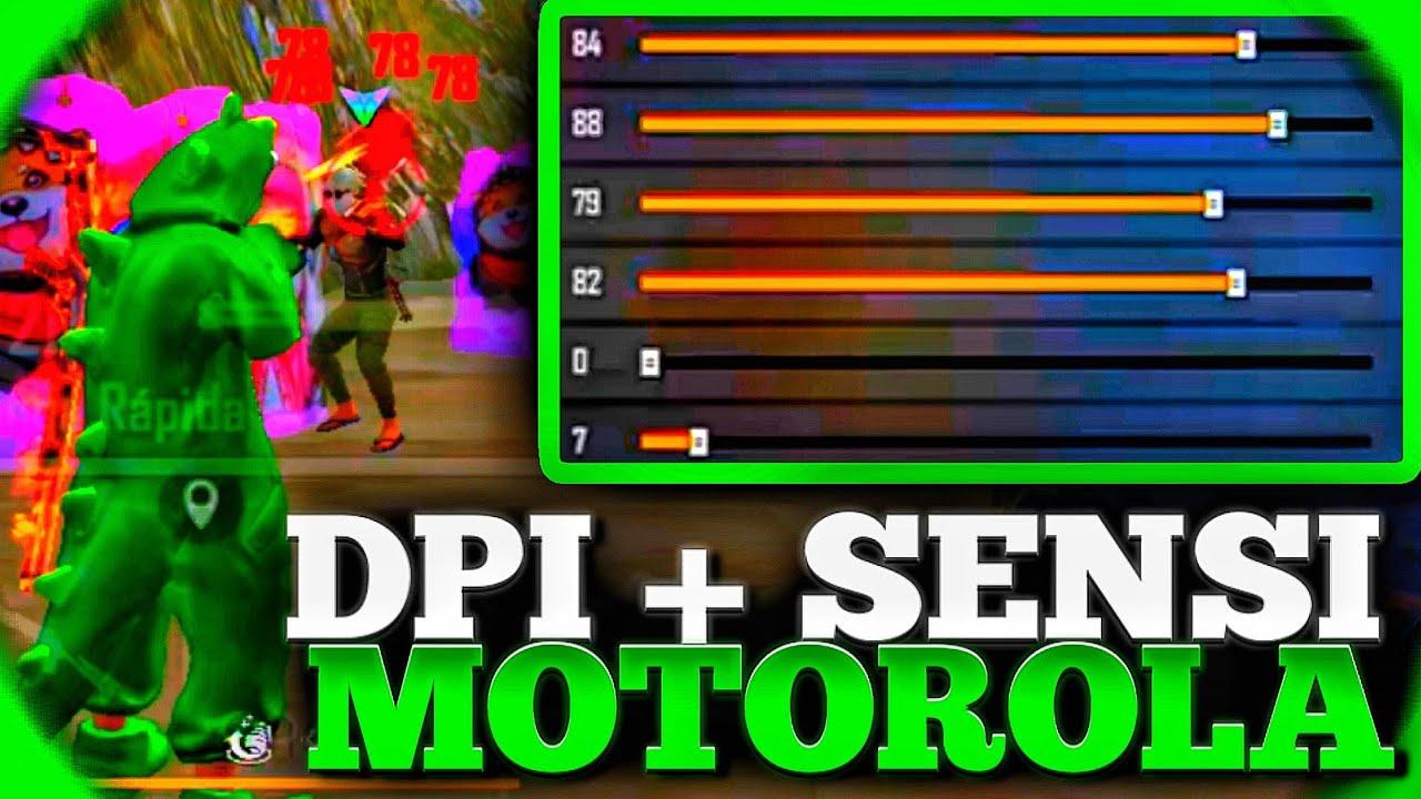 Download MELHOR SENSIBILIDADE E DPI PARA MOTO E4,E5,E6,E7! SENSI + DPI PERFEITA PARA MOTOROLA