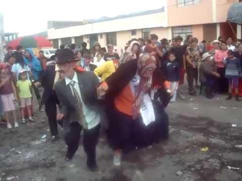 Baile Cómico Por Las Fiestas Del Carnaval - Parroquia Píntag