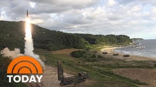 North Korea Launches Ballistic Missile Over Japan | TODAY thumbnail