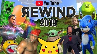 YouTube Rewind 2019 but it's actually good    Meme Edition    #youtuberewind