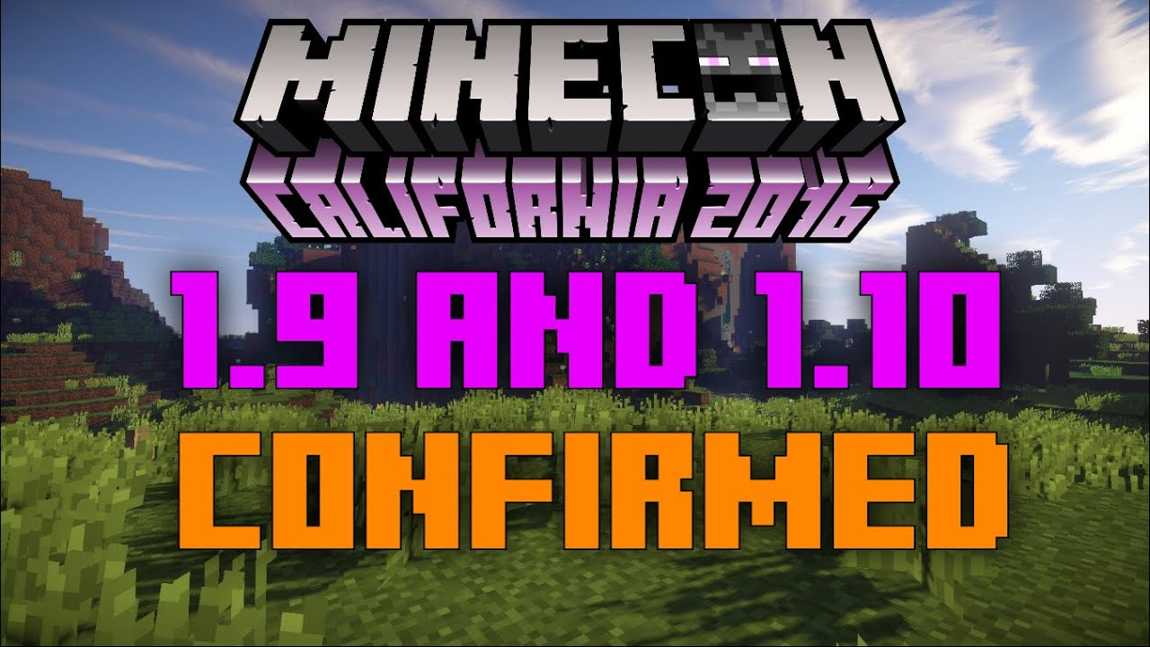 MINECRAFT XBOX/PS4/WIIU - 1.9 + 1.10 UPDATE CONFIRMED AND ...