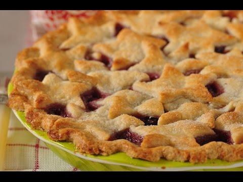 Cherry Pie Recipe Demonstration - Joyofbaking.com