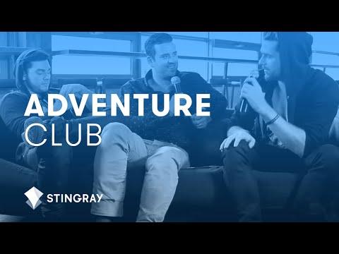 Adventure Club change pants + talk drunken antics and charitable causes