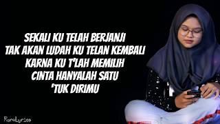 Jangan Menangis Untukku - Luvia  Lyrics Video  Cover By Dimas Gepenk
