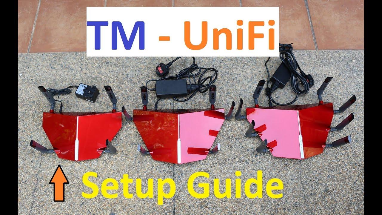 D-Link DIR-885L UniFi Custom Firmware Setup Guide (3 digit Vlans 500 & 600)