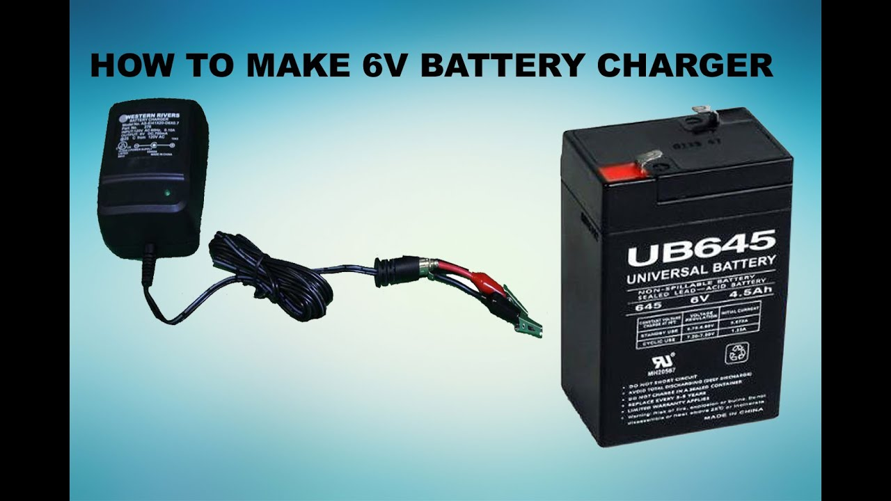 Making Charger Battery