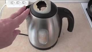 Почему у меня сломался хороший электрический чайник