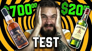 $20 Vs $700 Drink Test.. (epic fail cringe)