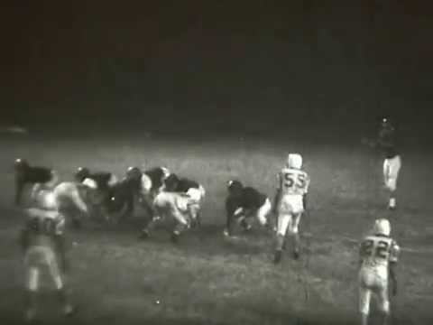 1963 High School Football - Forsyth County High School (GA) vs. Gilmer County High School (GA)