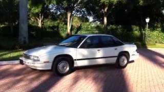 1992 Buick Regal Custom sedan 30k miles starting up VIDEO TOUR GUIDE