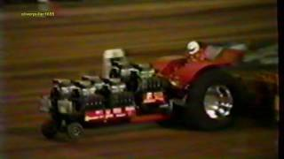 1990 Wisconsin Dairyland NTPA Unlimited Modified Tractor Pull: Session 4