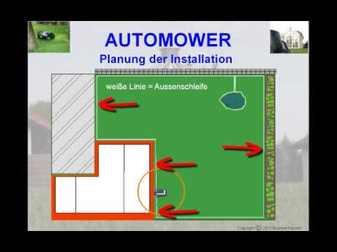 automower installation planung einfache installation youtube. Black Bedroom Furniture Sets. Home Design Ideas