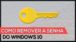 Como remover a senha do Windows 10 (com pen drive)