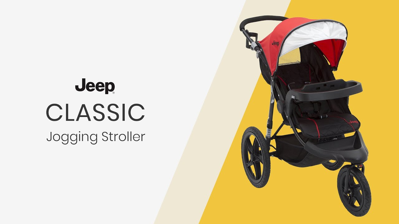 J Is For Jeep Brand Classic Jogging Stroller By Delta Children