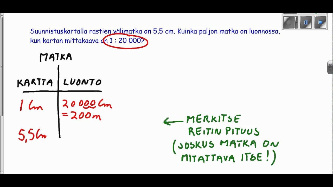 Ma8 Kpl59 Kartan Mittakaava Youtube