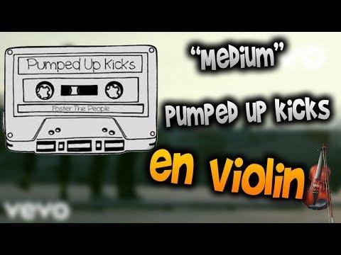 pumped up kicks en Violín |tab,tutorial,partitura,como tocar|HD Tutorial