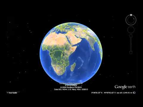 Gabon Google Earth View