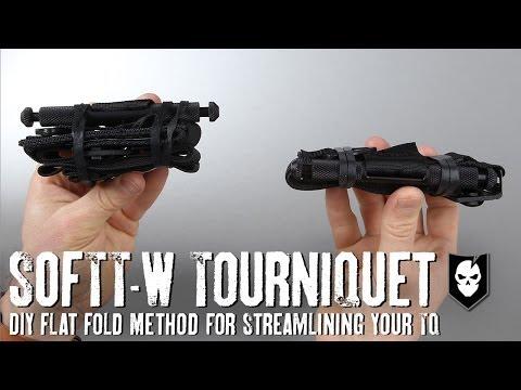 DIY Flat Fold Method for SOFTT-W Tourniquets
