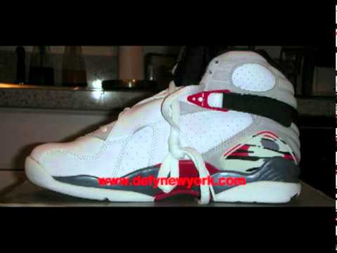 premium selection c539c 3a0ac Nike Air Jordan VIII 2003 Retro White  Black  True Red