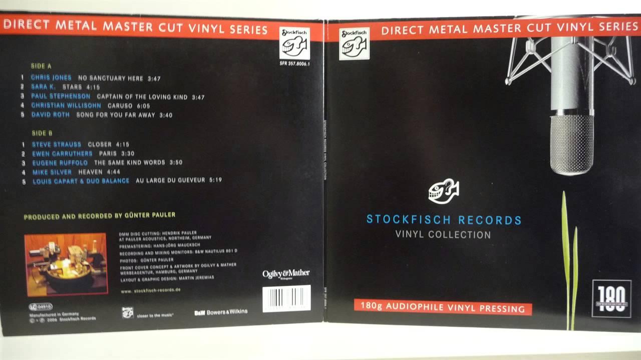Stockfisch Records Vinyl Collection Direct Vinyl Capture