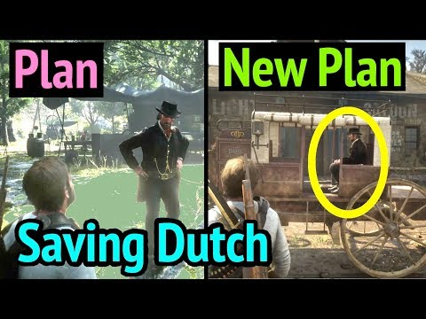Saving Dutch with New Plan in Red Dead Redemption 2 (RDR2): Dutch van Der Linde thumbnail