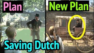 Saving Dutch with New Plan in Red Dead Redemption 2 (RDR2): Dutch van Der Linde