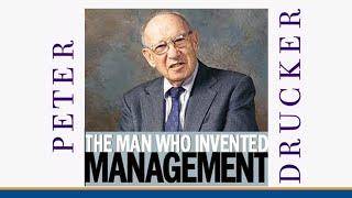 Peter Drucker: Qué es el Management?