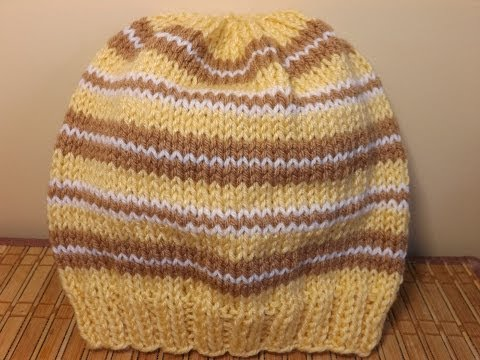 How to knit an adult hat - with Ruby Stedman