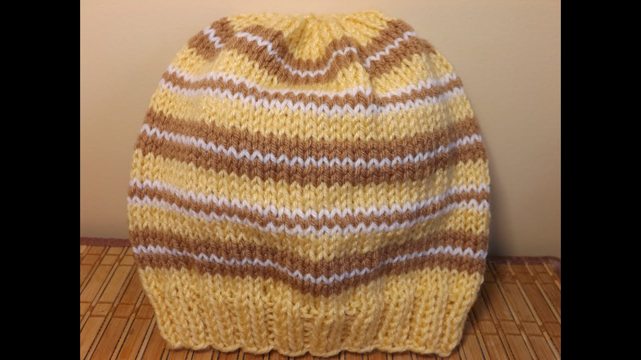 How to knit an adult hat - with Ruby Stedman FunnyCat.TV