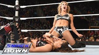 Charlotte vs. Brie Bella: SmackDown, November 19, 2015