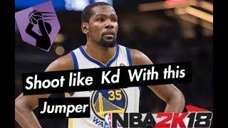 BEST JUMPSHOT IN NBA 2K18 HISTORY