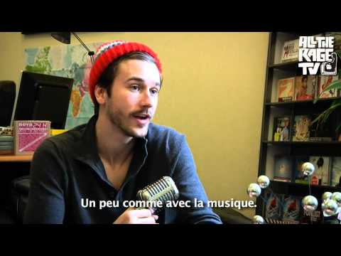 John Gourley (Portugal. The Man) Talks About His Art On ALL THE RAGE TV