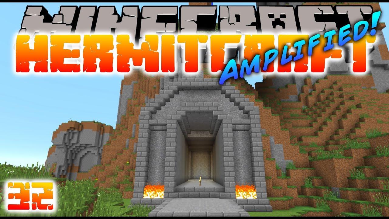 Minecraft Hermitcraft - MINE ENTRANCE! ( Let's Play S3E32 ) - YouTube