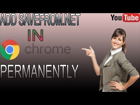 HOW TO ADD SAVE FROM.NET IN GOOGLE EXTENSION EASILY