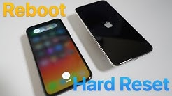 How To Reboot and Hard Reset iPhone XS, XS Max, XR, and X