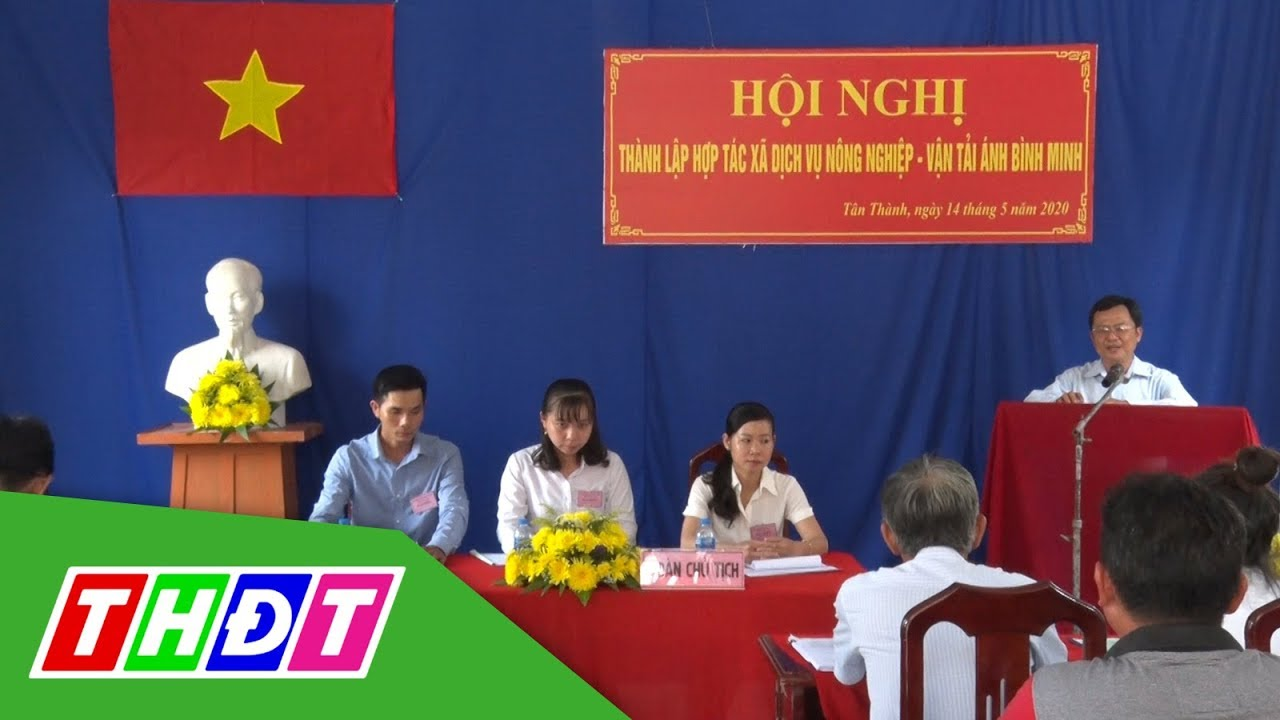 Lai Vung: Thành lập HTX Dịch vụ nông nghiệp – Vận tải đầu tiên   THDT