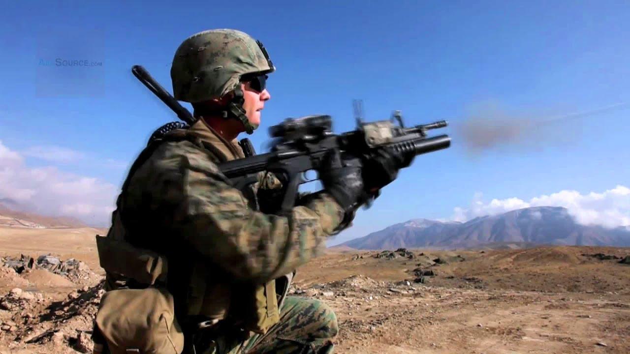 U.S. Marines Fire M203 Grenade Launchers - YouTube