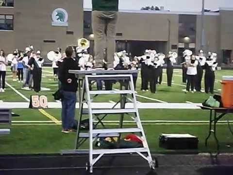 Oak Lawn Community High School Marching Band 9/18/2015
