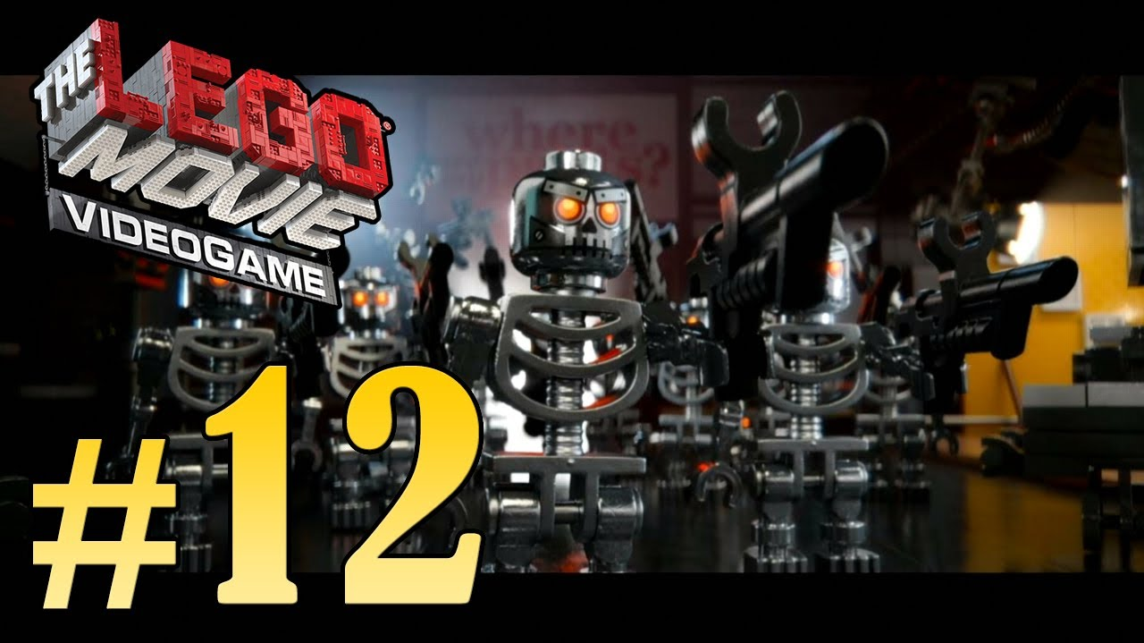 The LEGO Movie Videogame Walkthrough - Part 12 Broadcast News Gameplay HD