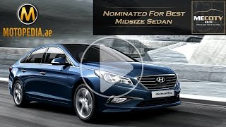 2015 Hyundai Sonata review - تجربة هيونداي سوناتا - Dubai UAE Car Review by Motopedia.ae