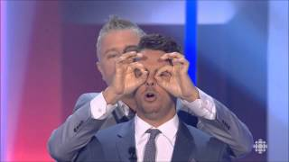 Dominic Paquet et Philippe Bond - Gala les Olivier 2015