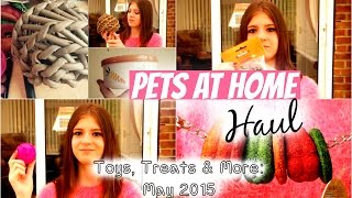 Pets At Home Haul: May 2015 | Rosiebunneh