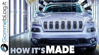 Jeep Cherokee CAR FACTORY - Production HOW IT'S MADE