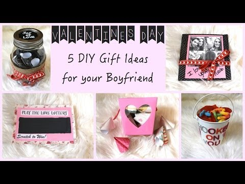 5 DIY Gift Ideas for Your Boyfriend! - YouTube : Easy Homemade Gift Ideas For Your Boyfriend For Kids