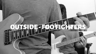 Outside - Foo Fighters Guitar Cover