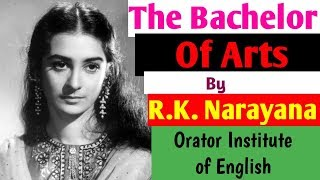 The Bachelor of Arts by RK Narayan in Hindi