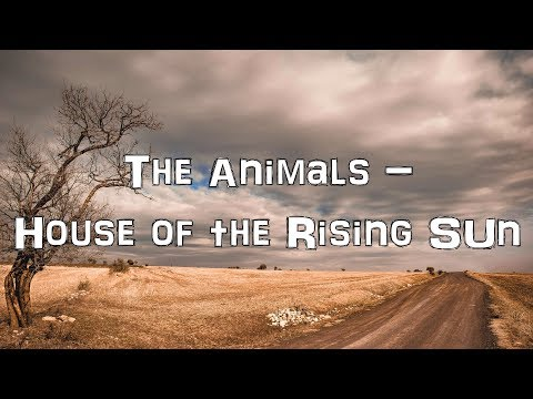 The Animals - House of the Rising Sun [Acoustic Cover.Lyrics.Karaoke]